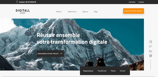 meilleures agences web bordeaux : digitall