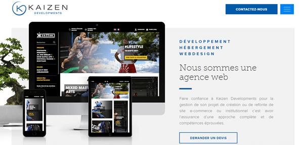 meilleures agences web bordeaux : Kaizen