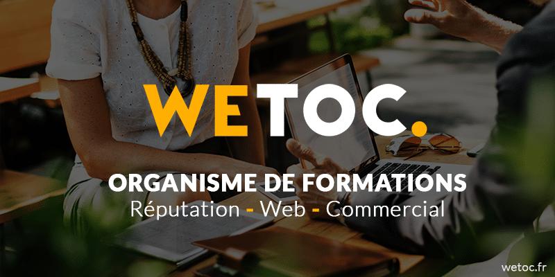 Organisme de formations web Wetoc