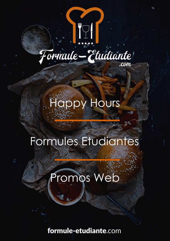 affiche promotionnelle formule etudiante