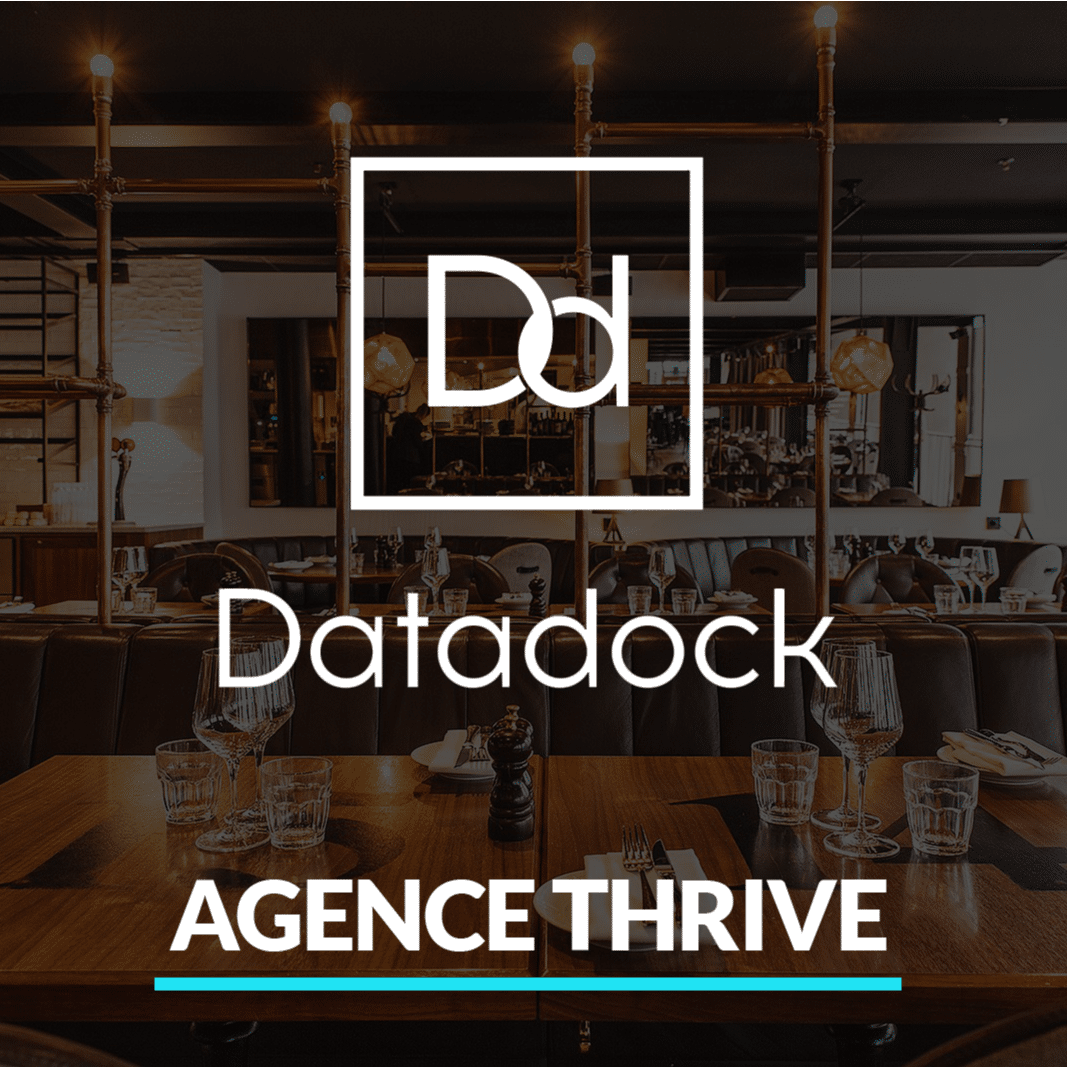certificatio ndata dock pour l'agence Thrive