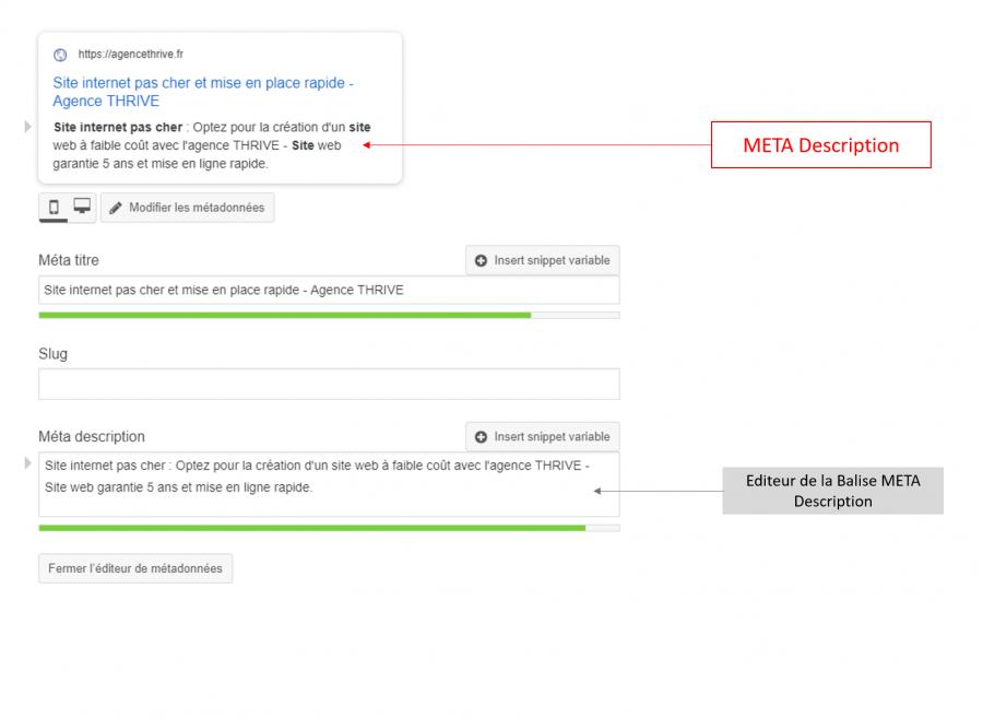 Gérer les balises META Description avec WordPress et Yoast SEO