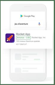 google publicité mobile